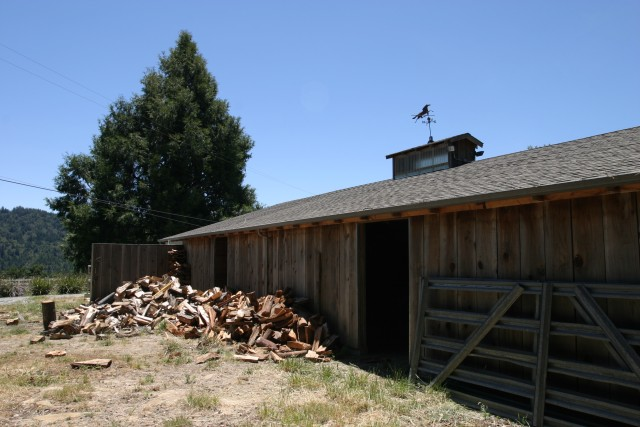 And more horse barn
