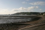 The beach, looking towards downtown Mumbles