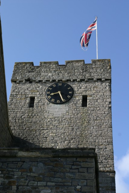 Clock tower, All Saints' Church
