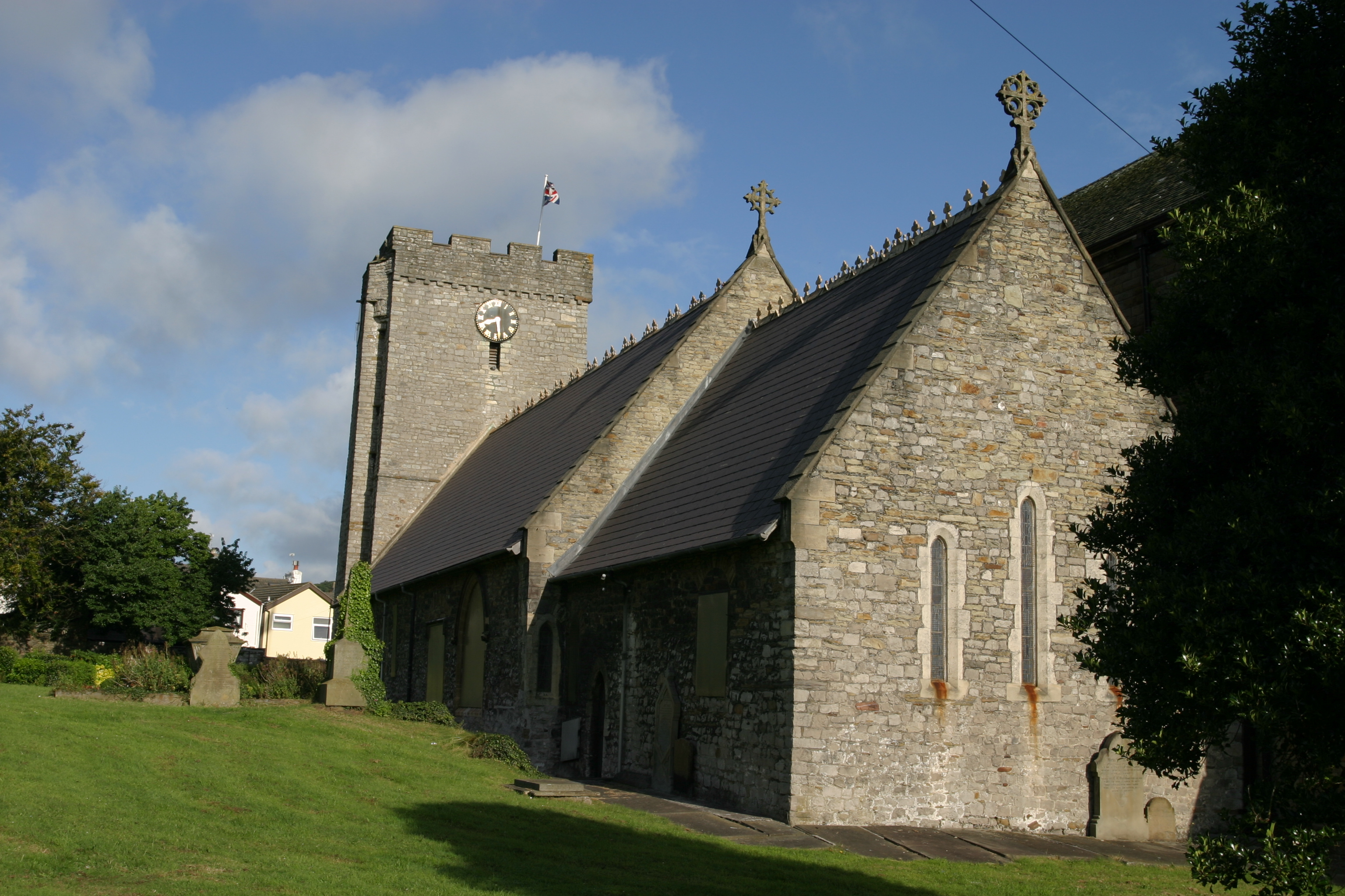 Southwesterly view, All Saints' Church