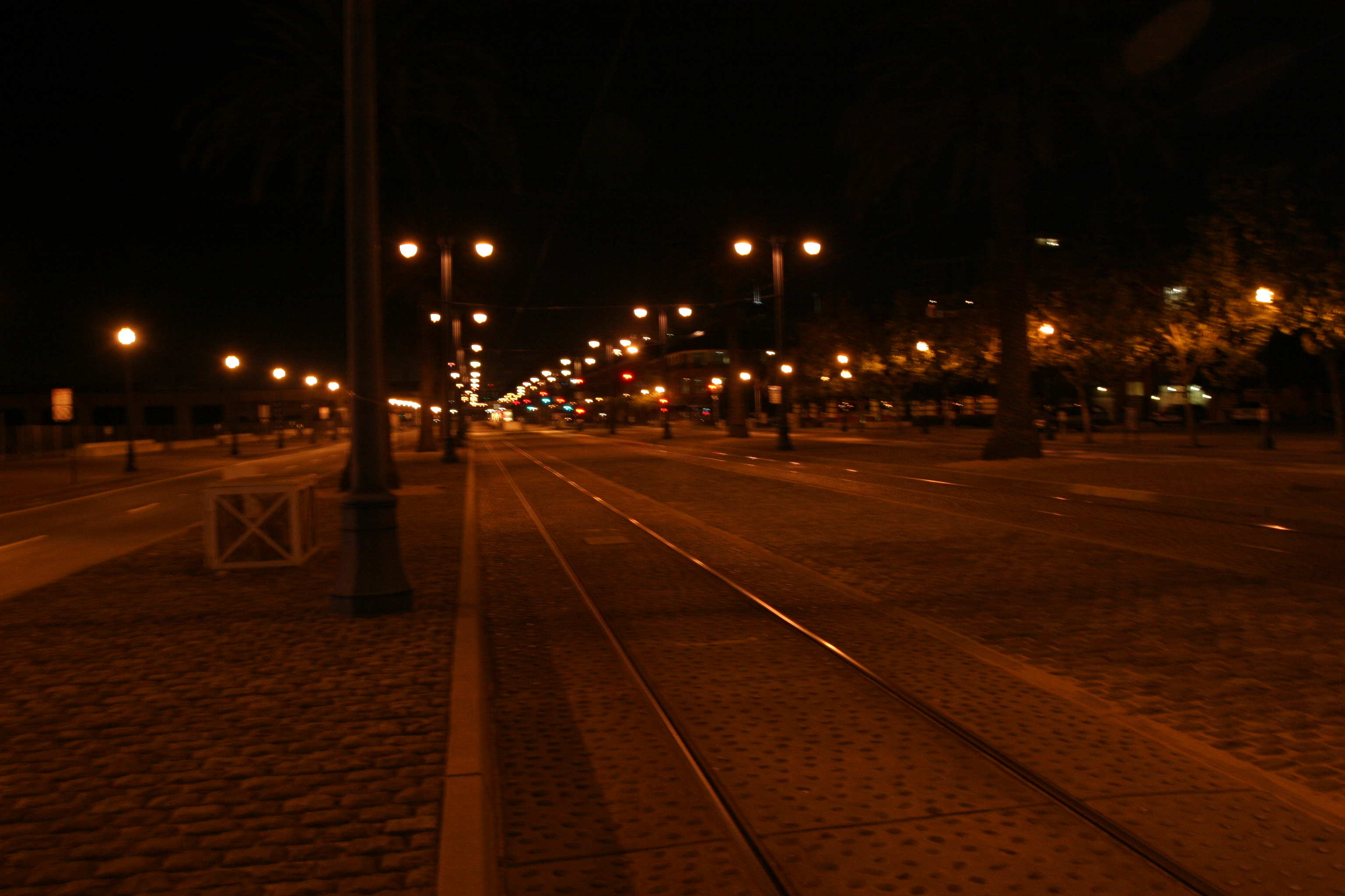 Embarcadero and MUNI railway