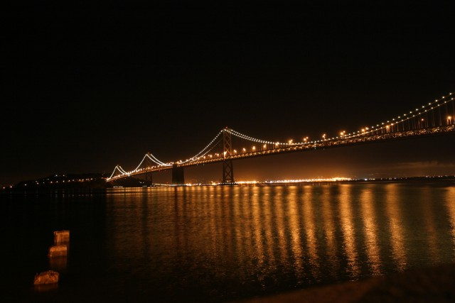 More Bay Bridge and water