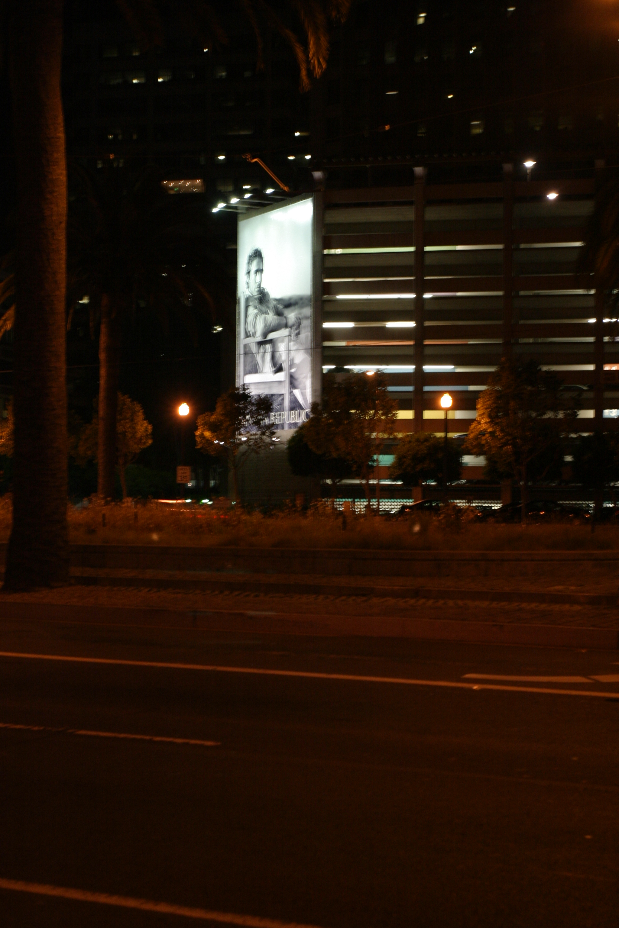 Billboard on Embarcadero