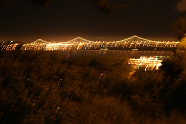 Blurry Bay Bridge