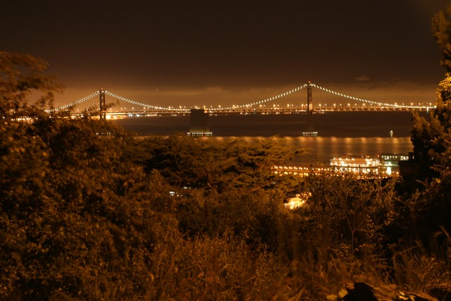 Pastel Bay Bridge